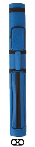 Burgundy Billiards Light (Action Vinyl Pool Cue Case (2 Butt and 2 Shaft), Royal)