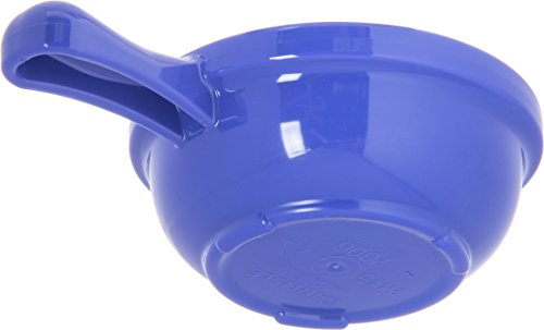 Carlisle 700614 Plastic Handled Soup Bowl, 8 oz., Ocean Blue (Pack of 24) by Carlisle (Image #4)