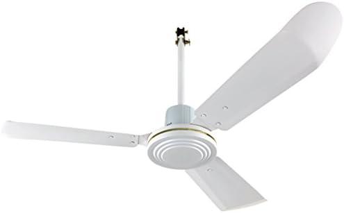 Ventiladores de techo grande de color blanco curvado de metal de ...