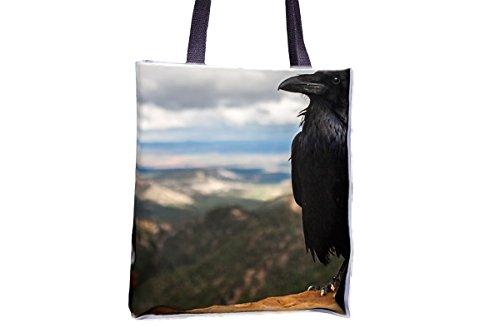 Bolsas de bolso de mano para mujer con estampado de animales de corona, Raven, Pájaros, Negro, Animal, Naturaleza, Totes populares, bolsas de bolsos populares para mujeres, bolsa de bolso de mano prof