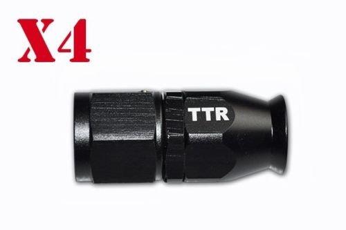 Fuel Gas Ethanol E85 Oil Line Hose 20FT w//Black Fitting Hose End Swivel Kit PTFEAN10/_KIT/_DA/_BLACK Teflon AN-10 Stainless Steel PTFE