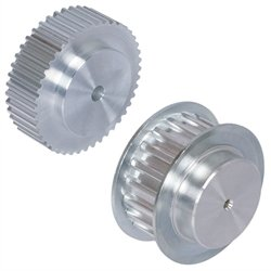 Timing belt pulley T5 material aluminium 14 teeth for belt width 16mm 27 T5/14-2