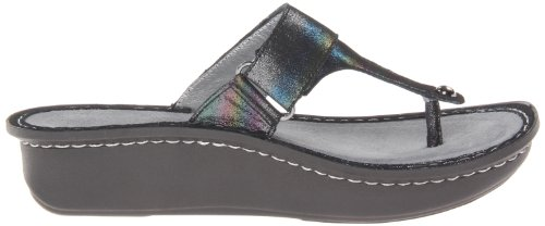 Blue Alegria Women's Wedge Carina Rainbow Sandal BCRIB