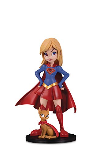 DC Collectibles Artists Alley: Supergirl by Chrissie Zullo Designer Vinyl Figure, Multicolor