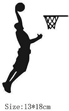 Pegatinas de Pared Pegatinas de Jugador de Baloncesto para ...