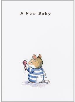 Holy-Mackerel New Baby Boy Greeting Card