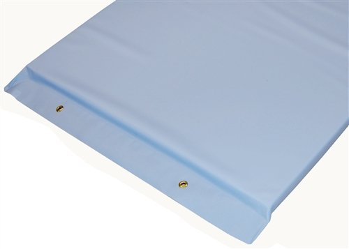 Imaging and Stretcher Table Pads - 2'' Firm Density Foam, Various Colors, 72'' x 23-1/4'' x 2'', Light Blue