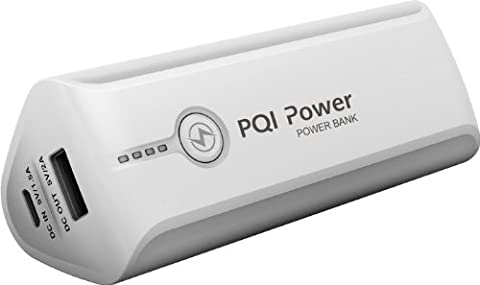 PQI i-Power 7800 White Portable Battery Power Bank for smartphones and tablets (7800mAh) (Pqi I Cable)