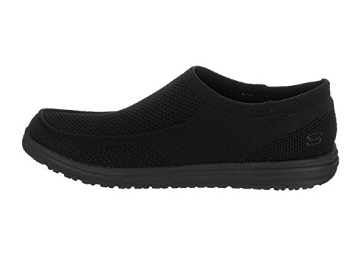 Skechers Mens Melson - Hosto Casual Scarpa Nera