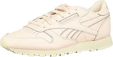 Reebok Cl Leather Women's Sneakers, Pink (Pink/White/Chalk), 5 UK (38 EU)