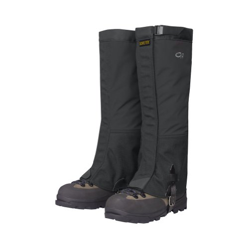 Outdoor Research Crocodiles Gaiters: Black; LG by Outdoor Research