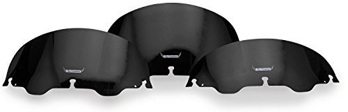 (Slipstreamer 16in. Replacement Windshield - Smoke S-135-16 by Slipstreamer)