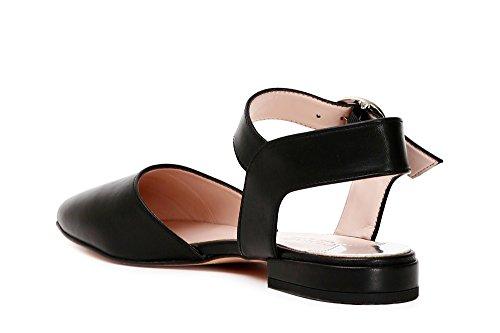 Piezas DE Cuero 2 Cafè Nero Noir KEC411 Zapatos EN 010 awBqwO7xnR