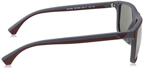 EA4033 Armani 56166g Emporio Top On Sonnenbrille Dk Bordeaux d7fSaqESw