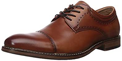 Stacy Adams Men's Flemming Cap-Toe Oxford, Cognac, 7 M US