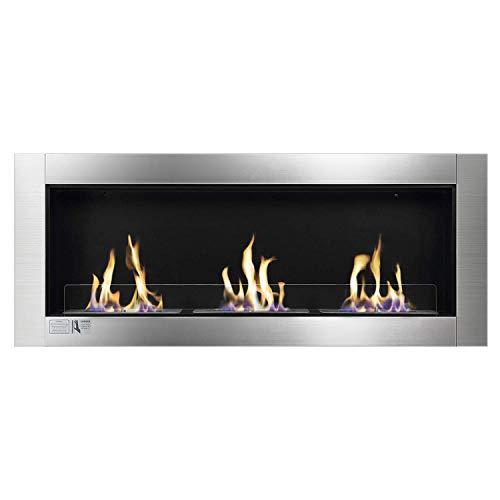 wall mount fireplace ventless - 1
