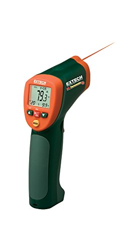 Extech 42515-NIST Infrared Thermometer with Type K and NIST by Extech