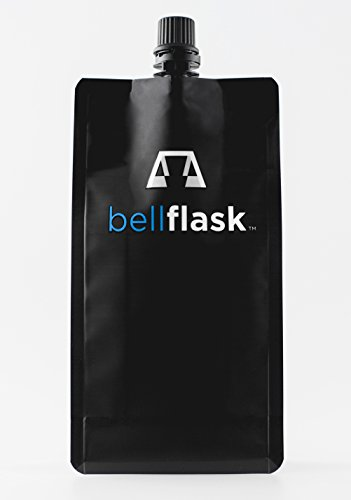 - BellFlask - 12 oz. Concealable, Flexible, Reusable, Best, Metal-Free Pack of Three Flasks