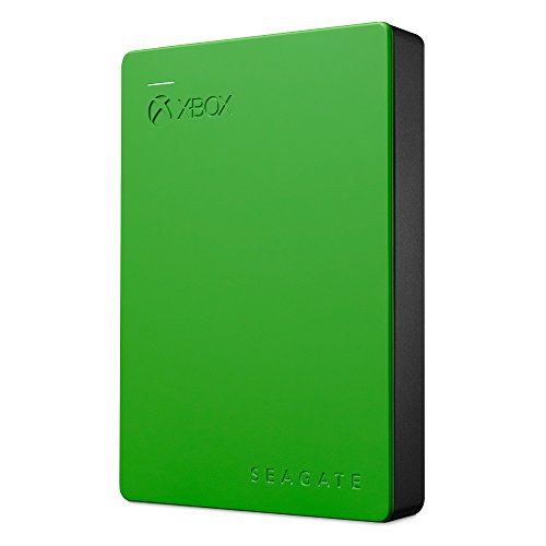 Seagate Game Drive for Xbox One, Green, 4TB (STEA4000402)