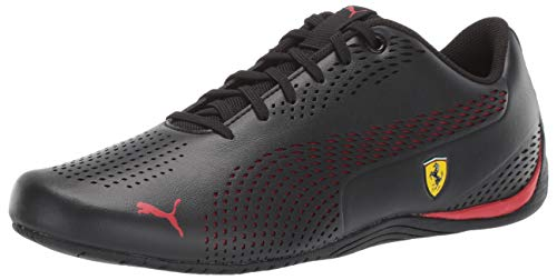 PUMA Men's Ferrari Drift Cat 5 Sneaker, Black-Rosso COR, 8.5 M US ()