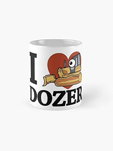 - I Love Dozer Kawaii 11oz Mug - The most meaningful gift for family and friends.