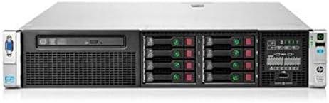 2.4TB - 2X 750w PSU HP P420i 512MB Raid Controller HP Proliant DL380P G8 8 Bays 2.5 Server 4X 600GB 10K SAS SED New HDD 2X Intel Xeon E5-2670 2.6GHz 8 Core 32GB DDR3 REG Memory Renewed