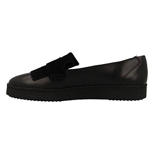 Clarks Zapato 26130836 Lillia Lottie Negro Black