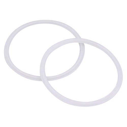 (DERNORD Silicone Gasket Tri-clover (Tri-clamp) O-Ring - 4 Inch (Pack of 2))