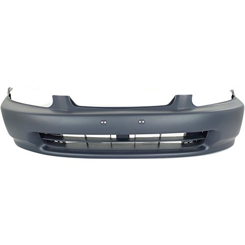 Front Bumper Cover Compatible with 1996-1998 Honda Civic Primed