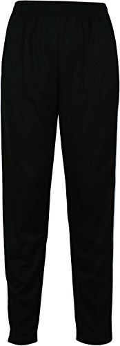 Angel Track Jacket (Angel Cola Men's Retro Stripes Full Zip-up Track Pant Jacket 1s Black XS)