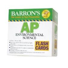 Barron's AP Environmental Science Flash Cards (Barron's: the Leader in Test Preparation)