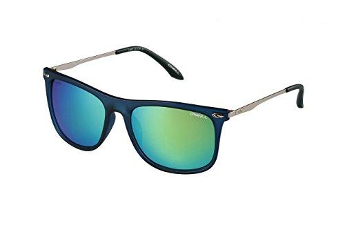 O'NEILL LAYER 106P Rectangle Matte Navy Sunglasses, Matte - Sunglasses O Neill