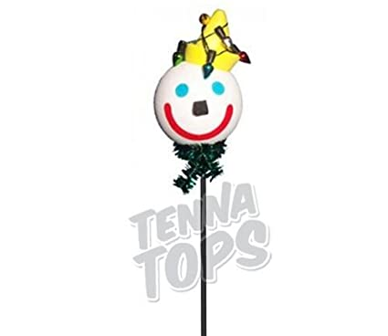 jack in the box christmas lights car antenna topper yellow smiley antenna ball - Jack In The Box Open On Christmas