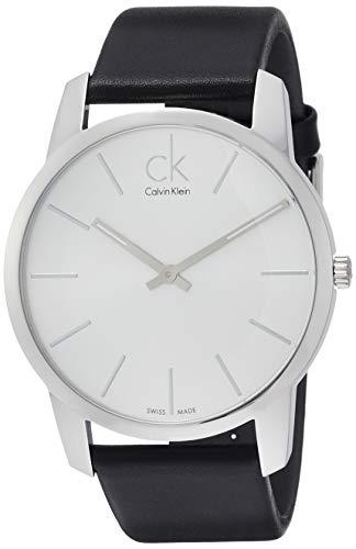 Calvin-Klein-Montre-Bracelet--Quartz-analogique-Cuir-K2G211-C6