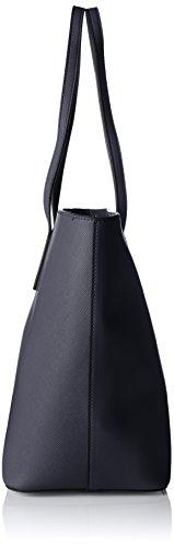 Joop! - Saffiano Jeans Lara Shopper Lhz, Borse a secchiello Donna Blu (Dark Blue)