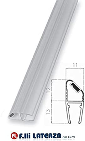 Junta magnética para mampara de ducha, cristal antigoteo, perfil ...