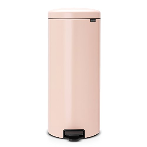 Brabantia Step Trash Can newIcon with Plastic Inner Bucket, 8 Gal. - Clay Pink