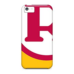Iphone 5c Hard Back With Bumper Silicone Gel Tpu Case Cover Washington Redskins