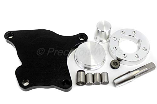 Precision Works Balance Shaft Eliminator Kit H22A4 H22A7 F22 Billet Aluminum