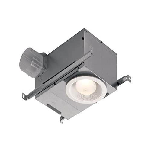 Broan 744 Recessed Bulb Fan And Light, 70 CFM 75 Watt