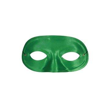 Half (Green) Domino Mask (Green Domino Mask)