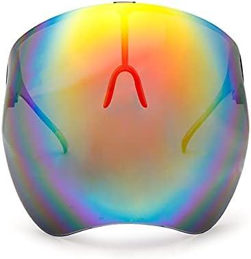 Gafas Protectoras de protección Facial para Hombres y Mujeres, Gafas de Seguridad, máscara antirrayas, Gafas Protectoras, Gafas de Sol de Vidrio