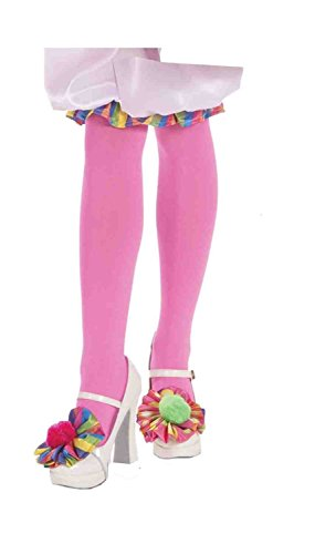 Forum Novelties Women's Circus Sweetie Shoe Toppers Costume Accessory, Multi Colored, One Size