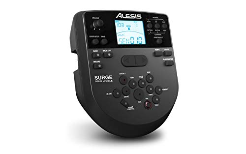 Alesis SURGE MESH KIT Eight-Piece Electronic Drum Kit with Mesh Heads + On Stage Drum Stick Holder DA100 & On Stage Maple Wood 5B (1 Pair) Of Drumsticks by Alesis (Image #4)