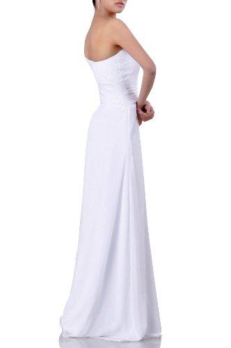 Short Women's One Dress Shoulder Adorona Chiffon Sleeve Long Cocoa IpnwH