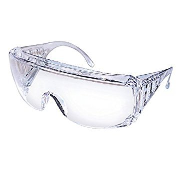 Safety Works 817691 Over Economical Safety Glasses, Clear 2-Pack