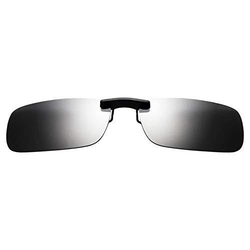 Gafas miopes Pesca Mujeres Ojos Espejo vidrios de de y KOMNY con Conducir polarizadas Clips Sol Modelos Sol Clip de para Conductor de Gafas Hombres conducción vwPFC