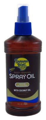 - Banana Boat Deep Tanning Oil Spray 8 Ounce No Sunscreen (235ml) (2 Pack)