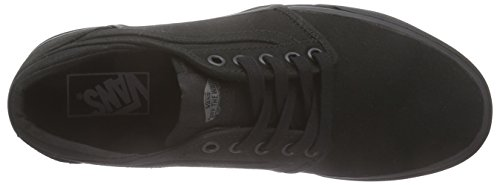 Vans - Atwood, Zapatillas Unisex adulto Negro (canvas/black/black)