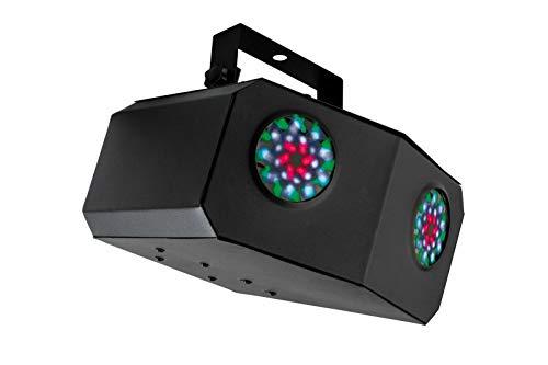 Proyector disco LED doble, con sensor de sonido, luz LED ...